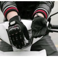 ProBiker full finger sarung tangan motor touch screen Hp tab Pro Biker