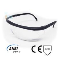 Kacamata Safety Wide View Clear Lens Adjustable Frame standard ANSI