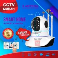 CCTV CAMERA 3 ANTENA SINYAL LEBIH KUAT PH-A33 REAL 2MP