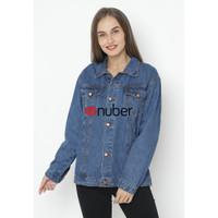 Basalt Jacket Jeans Wanita - Navy