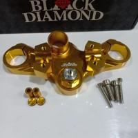 Segitiga stang Ninja 250 Black Diamond