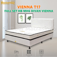 Spring Bed Musterring Vienna T17 160 x 200 FULL SET HB MH6