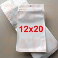12x20 Plastik aksesoris plastik klip putih klip segel