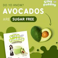 FORISA SILKY PUDDING AVOCADO. silky puding avocado. sugar free
