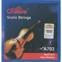1 Set Senar Biola / Violin String Alice A703
