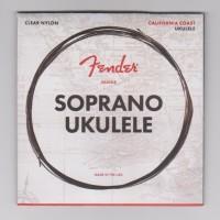 1 Set Senar Ukulele / Okulele Soprano, Fender, Clear Nylon