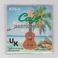 1 Set Senar Gitar Ukulele / Okulele Caye K70-A