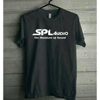 Kaos Baju Combed 30S Distro SPL AUDiO polos custom sound musik lagu