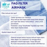 Filter Masker Kain / Filter AIRMASK