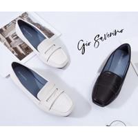 Sepatu kerja wanita Gio Saverino Wina T burch flat shoes