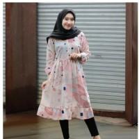 Gudang Baju Kulakan TUNIK Floral Tunik KODE 667