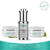 Paket waJah glowing super Janayu Whitening Treatment Serum N Cream