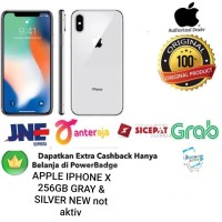 Apple IPhone X 256 GB 256GB Garansi INTER GRAY & SILVER- HP x256