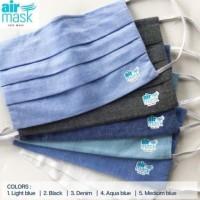 Masker Airmask / Masker Kain 3 ply included Filter