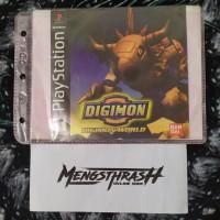 kaset game digimon wolrd playstation 1