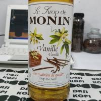 Sirup Monin Vanilla / Monin Vanila / Syrup Monin Vanilla (share 250ml)