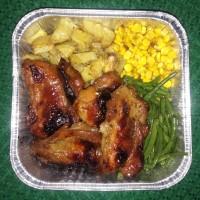 Herbs Roast chicken / ayam panggang - Whole Roast