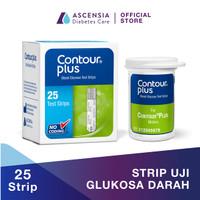 Ascensia Diabetes Care - Contour Plus Strip Test Gula Darah 25 Strip