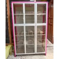 Rak Piring Kaca / Kitchen set 3P Full Box Riben Colour Rak piring