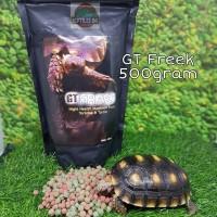 GTF 500gr / GT Freek / GT-Freek Pelet Makanan Kura Kura Torto Tortoise