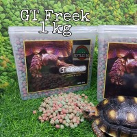 GTF 1 kg / GT Freek / GT-Freek Pelet Makanan Kura Kura Torto Tortoise