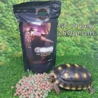 GTF 250gr / GT Freek / GT-Freek Pelet Makanan Kura Kura Torto Tortoise