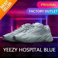 Adidas Yeezy Boots 700 Hospital Blue Shoes Original - 40