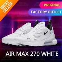 Nike Air Max 270 White black Original Sneakers