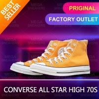 Converse All Star 70s Shoes Yellow Man and Women High Classic Original - 36