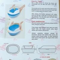 Promo Bak Pasir Kucing/ Toilet Kucing Paket Komplit Limited
