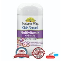 Nature's Way Kid Smart Multi Trio Chewables 50 Tablets