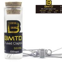DIY MTL prebuilt coil Ni80/A1/SS316L premade fused clapton mtl coils