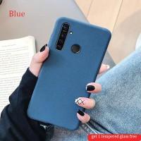 Realme 5s Soft Case Matt Silicone Ultra Slim Case Covers(get 1 free