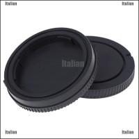 Itali 2Pcs Tutup Lensa Kamera Belakang + Cover Depan Untuk A3000