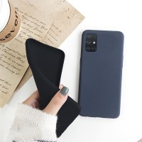 Samsung Galaxy A51 A71 Soft Case Matt Silicone Full Cover Cases (Get