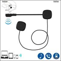 Itali Headset Interphone Bluetooth 5.0 Untuk Helm Motor