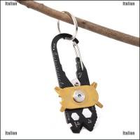 Itali 1Pc 20-In-1 Set Kunci Pas Mini Multifungsi Dengan Bahan Baj