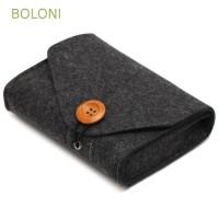 BOLONI Travel Earphone USB Date Cable Power Mouse Storage Bag