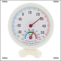 Itali Termometer Pengukur Suhu / Kelembaban Mini Untuk Indoor / O