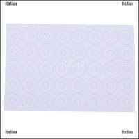 Itali 100Pcs Alas Insulasi Tahan Panas Warna Putih 18650