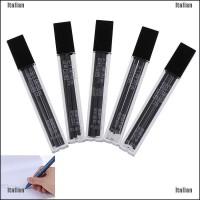 Itali 30Pcs / 5 Kotak Pensil Mekanik 2B Warna Hitam