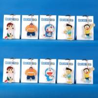 PRF29 Gantungan Kunci Kartun Doraemon karakter Nobita