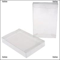 Itali 2Pcs Kotak Pelindung Cartridge Plastik Untuk Snes