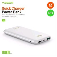 Powerbank PB Veger Q10 Fast Charging Fast Charger Qualcomm