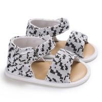 Sepatu Bayi Perempuan 0-1 Tahun Model Hollow Bahan Karet Lembut