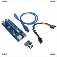 Kabel Power Extension Usb 3.0 Itali Pci-E1X To 16X Riser Card