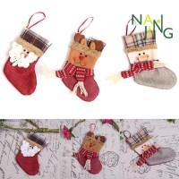 ▸ ♣ ◂ Kaos Kaki Natal Lucu Lembut untuk Hadiah Anak / Dekorasi