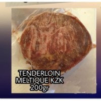 Daging Sapi Round Tenderloin Meltik KZK / Meltique Beef Steak 200gr