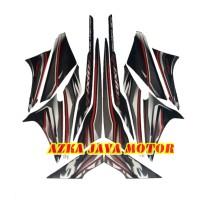 striping Sticker Yamaha Vixion lama 2012 Putih