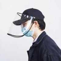Topi Baseball Protektor Anti Virus Corona Protector Visor Pelindung